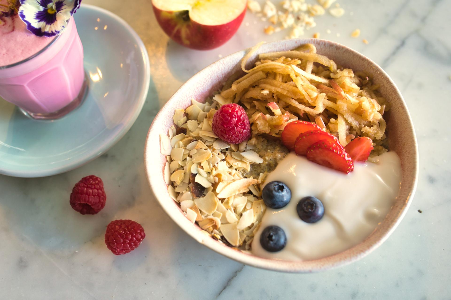 Apple & Almond Quinoa Porridge