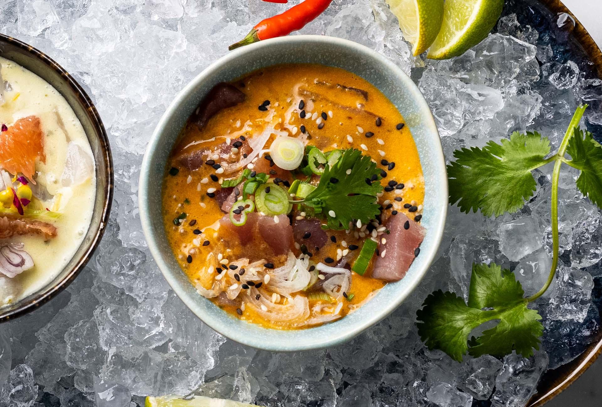 Spicy Tuna Ceviche Starter