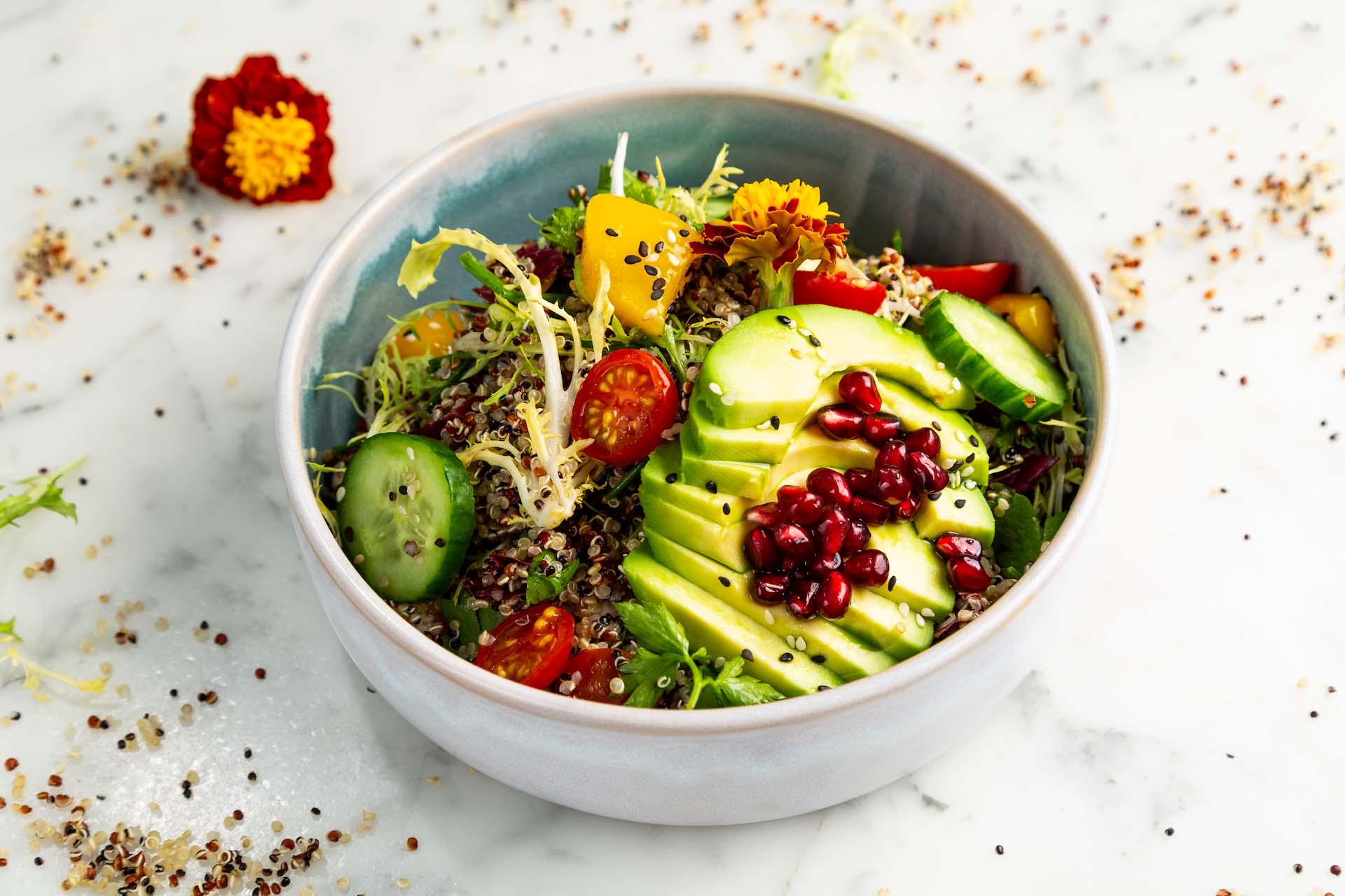 Veggie Lover's Quinoa Bowl